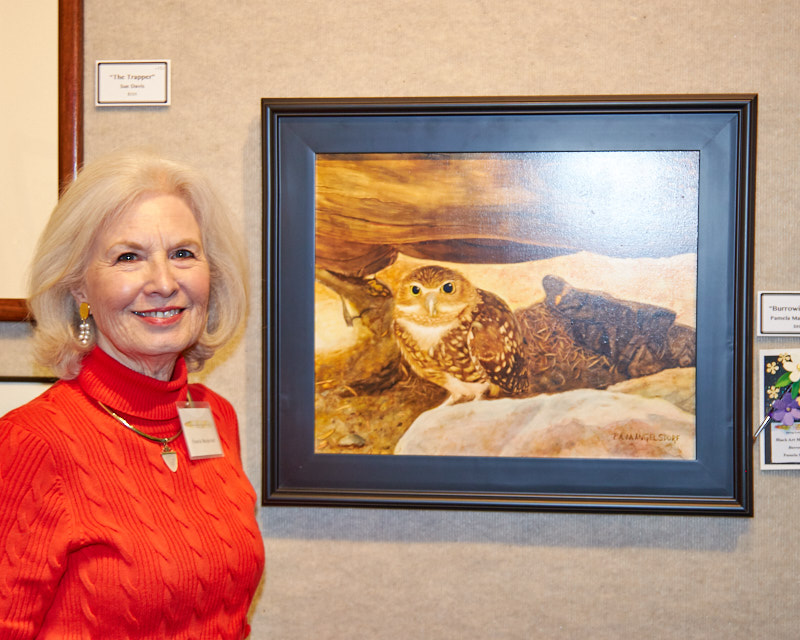 """Burrowing Owl"" - Blick Art Materials Award Winner"