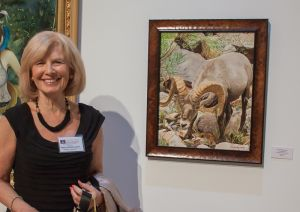 "Me with my entry ""San Juan River Big Horn"""