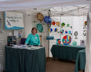 Jackie Kahn and Her Glass Creations